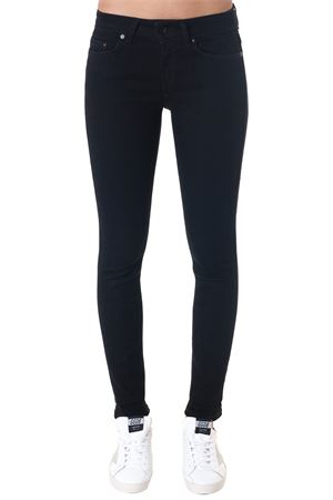 JEANS ELASTICO MONROE IN NERO AI 2018 DONDUP | 4 | P692DS0198A27NMONROE999