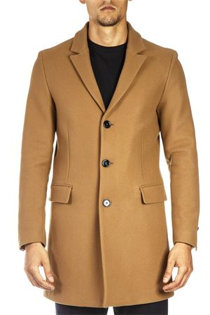 CAMEL WOOL AND CASHMERE COAT FW 2018 DONDUP | 31 | UJ582PX0038XXX1728