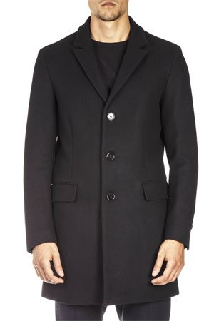 BLACK WOOL AND CASHMERE COAT FW 2018 DONDUP   31   UJ582PX0038XXX1999