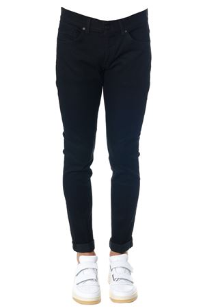 JEANS GEORGE NERO IN COTONE AI 2018 DONDUP | 4 | UP232DS0198A27NGEORGE999