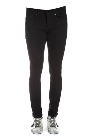 BLACK GEORGE PANTS IN COTTON FW 2018 DONDUP | 8 | UP232DS0198UA27NGEORGE999