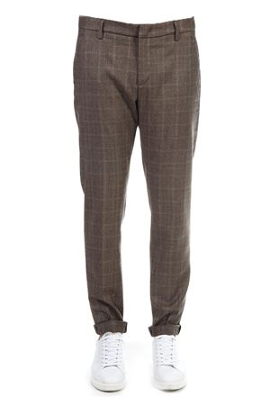 PANTALONE CLASSICO MARRONE IN VISCOSA AI 2018 DONDUP | 8 | UP235QS0087XXXGAUBERT740