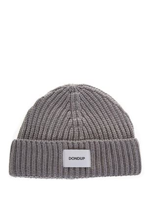 eaf794d988f DARK GREY WOOL RIBBED HAT FW 2018 - STONE ISLAND - Boutique Galiano
