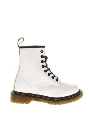 8 EYE SMOOTH WHITE LEATHER BIKER FW 2018 DR. MARTENS | 52 | DMS1460WHSMZ100721001460