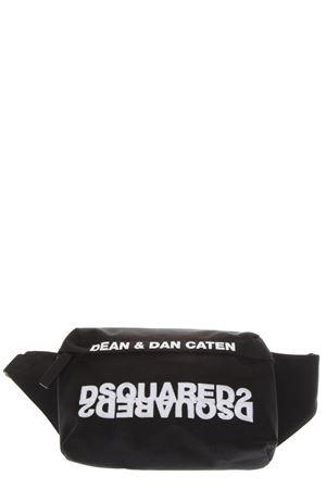 BLACK NYLON BELT BAG WITH DSQUARED LOGO FW 2018 DSQUARED2 | 2 | BBM0002117011172124