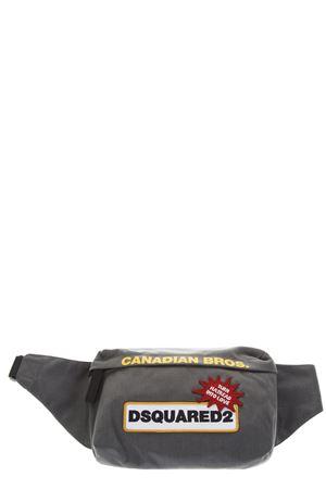 GRAY NYLON BELT BAG FW 2018 DSQUARED2 | 2 | BBM0002117011182128