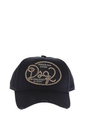 CANADIAN COWBOY LOGO PATCH HAT FW 2018 DSQUARED2 | 17 | BCM013605C000012124