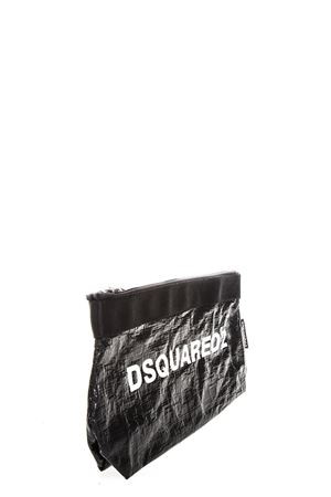 BLACK MAKE-UP BAG WITH WHITE DSQUARED2 LOGO FW 2018 DSQUARED2 | 2 | BYW0002081000012124