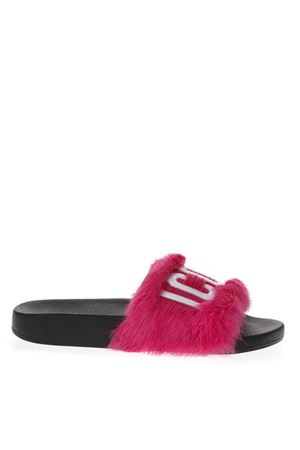 FUXIA LEATHER SLIPPERS FW 2018 DSQUARED2 | 87 | FSW0023315000019217