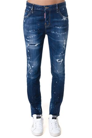 JEANS COOL GIRL IN DENIM DI COTON DESTROYED AI 2018 DSQUARED2 | 4 | S72LB0121S30342470