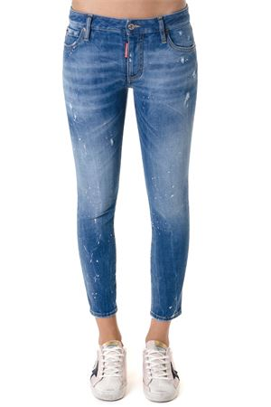 DENIM COTTON DSQ2 PAINTED SPLATTERS JEANS FW 2018 DSQUARED2 | 4 | S75LB0068S30595470