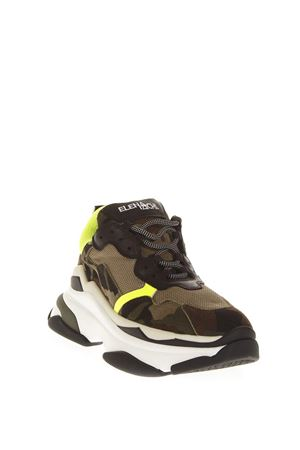 MULTICOLOR MESH & LEATHER SNEAKERS FW 2018 ELENA IACHI | 55 | TOUCHVARFLUO