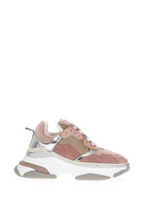 PINK MESH & LEATHER SNEAKERS FW 2018 ELENA IACHI | 55 | TOUCHVARNUDE