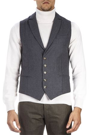 TWO TONE MIXED WOOL VEST FW 2018 ELEVENTY | 28 | 979GL0048PAN2602215