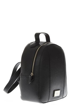 BLACK FAUX LEATHER BACKPACK FW 2018 EMPORIO ARMANI | 183 | Y3L026YH22A80001