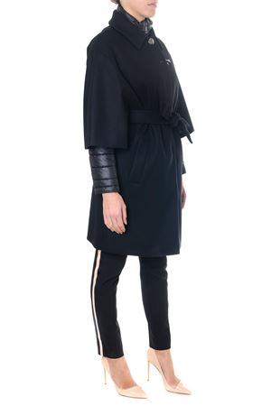 BLACK DOUBLE LAYER CASHMERE COAT FW 2018 FAY | 31 | NAW53373440PWGB999