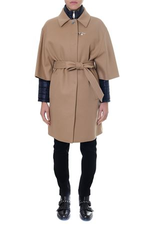 CAMEL DOUBLE LAYER CASHMERE COAT FW 2018 FAY | 31 | NAW53373440PWGC807