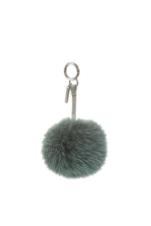 GREEN COLOR FUR POMPOM CHARM FW 2018 FENDI | 5 | 7AR259G30F098R