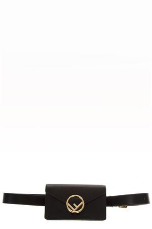 BLACK LEATHER BELT BAG FW 2018 FENDI | 2 | 8BM005A0KKF0KUR