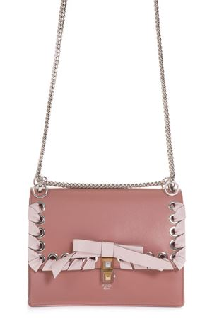 BORSA KAN I MEDIUM IN PELLE ROSA AI 2018 FENDI | 2 | 8BT283A20AF13Q7