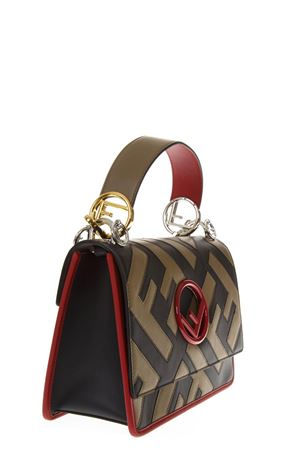KAN I MUD LEATHER BAG FW 2018 FENDI | 2 | 8BT284A44PF141P