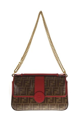 MAHOGANY LEATHER DOUBLE-FACE HAND BAG FW 2018 FENDI | 2 | 8BT297A5MPF1539