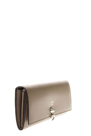 TAUPE CONTINENTAL LEATHER WALLET FW 2018 FENDI | 34 | 8M0251SMEF0NJ3