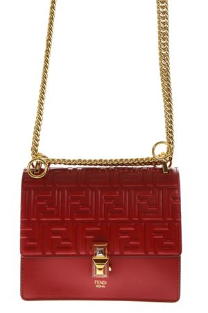 KAN I STRAWBERRY LEATHER SHOULDER BAG FW 2018 FENDI | 2 | 8M0381A417F0MVV