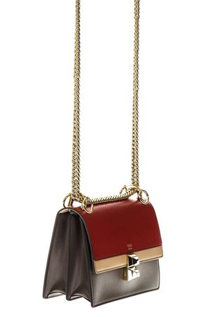 KAN I MULTICOLOR LEATHER SHOULDER BAG FW 2018 FENDI | 2 | 8M0381A5AVF14MX
