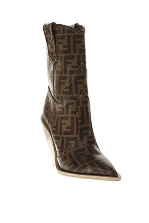 FENDI GEOMETRIC CUT OUT BOOTS FW 2018 FENDI | 52 | 8T6783YLZF0CMY