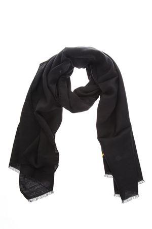 BAG BUGS MOTIF BLACK WOOL & SILK STOLE FW 2018 FENDI | 20 | FXS143A2S7F0QA1
