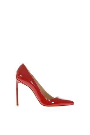 RED PATENT LEATHER PUMPS FW 2018 FRANCESCO RUSSO | 68 | R1P270N202RED