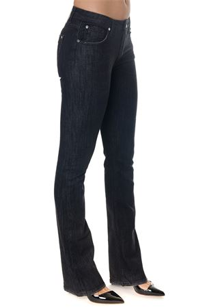 RUBY BLACK DENIM LOW WAIST JEANS FW 2018 FRANKIE MORELLO | 4 | FWCF8161JERUBYEN05