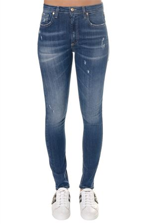 JACK LIGHT DENIM COTTON JEANS FW 2018 FRANKIE MORELLO | 4 | FWCF8170JEJACKIB02