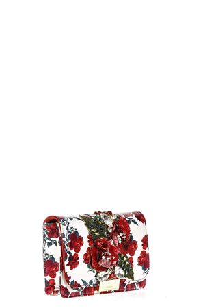 CLIKY EMBELLISHED WHITE LEATHER ROSES PRINT CLUTCH FW 2018 GEDEBE | 2 | CLIKYNAPPA PRINTRED WHITE