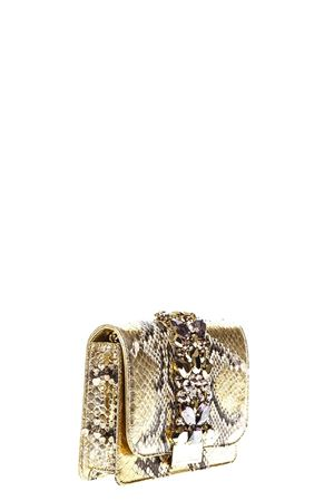 CLIKY EMBELLISHED GOLD PYTHON CLUTCH FW 2018 GEDEBE | 2 | CLIKYPYTHON ROCCIAGOLD