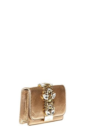 CLIKY PEARL GOLD PYTHON CLUTCH FW 2018 GEDEBE | 2 | CLIKYPYTHONGOLD ROSE PEARL