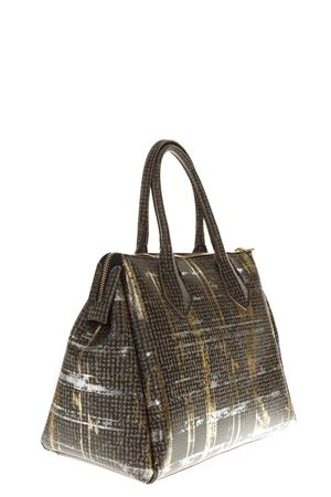 BIG GOLDEN/BROWN BAG FW 2018 GIANNI CHIARINI | 2 | BS1741LONDON STY9667