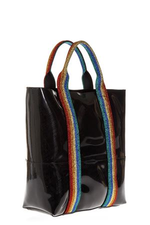 BLACK RAINBOW BAG IN RUBBER FW 2018 GIANNI CHIARINI | 2 | BS1759RAINBOW0344