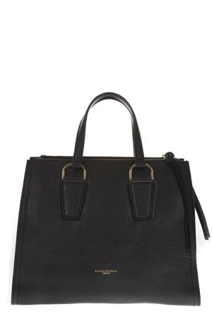 BLACK LEATHER HANDBAG FW 2018 GIANNI CHIARINI | 2 | BS6440RMN/RE001