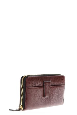 MERLOT LEATHER WALLET FW 2018 GIANNI CHIARINI | 34 | PF101RMN RE5916