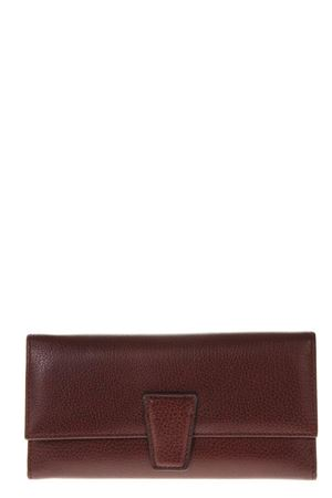 MERLOT LEATHER WALLET FW 2018 GIANNI CHIARINI | 34 | PF103RMN RE5916