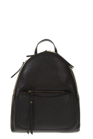 BLACK LEATHER BACKPACK FW 2018 GIANNI CHIARINI | 183 | ZN6366OLX001
