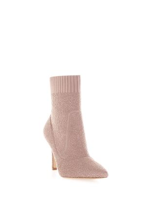 FIONA PINK STRETCH KNIT ANKLE BOOTS FW 2018 GIANVITO ROSSI | 52 | G7032985RICDAHLIA