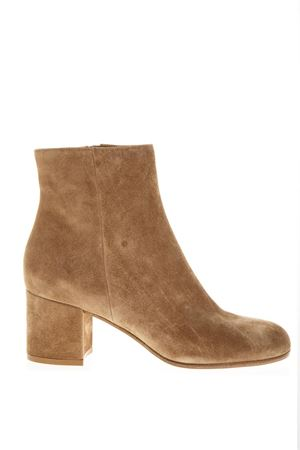 CALF SUEDE MARGAUX BOOTS FW 2018 GIANVITO ROSSI | 52 | G7051060RICCAMEL