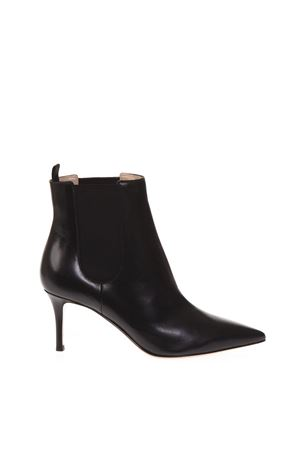 BLACK LEATHER ANKLE BOOTS FW 2018 GIANVITO ROSSI | 52 | G7392470RICBLACK
