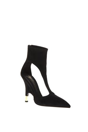KEIRA BLACK SUEDE ANKLE BOOTS FW 2018 GIUSEPPE ZANOTTI | 52 | I870068STRETCH001