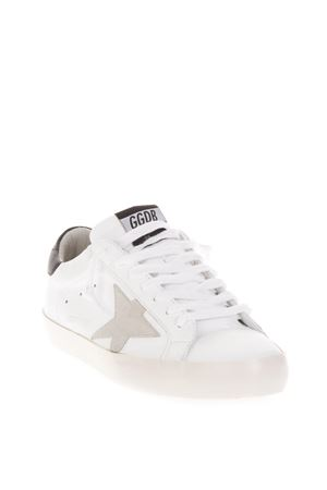 WHITE SUPER STAR SNEAKERS IN LEATHER FW 2018 GOLDEN GOOSE DELUXE BRAND | 55 | G33MS5901E73