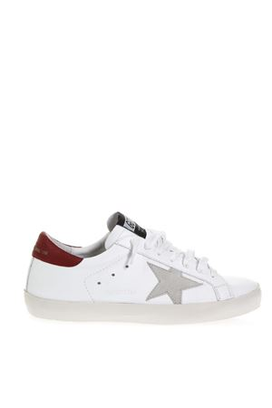 WHITE SUPERSTAR SNEAKERS IN LEATHER FW 2018 GOLDEN GOOSE DELUXE BRAND | 55 | G33MS5901G30