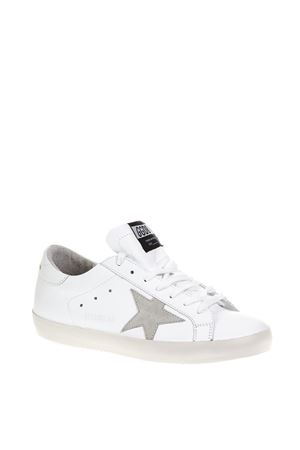 WHITE SUPERSTAR SNEAKERS IN LEATHER FW 2018 GOLDEN GOOSE DELUXE BRAND | 55 | G33MS5901G68
